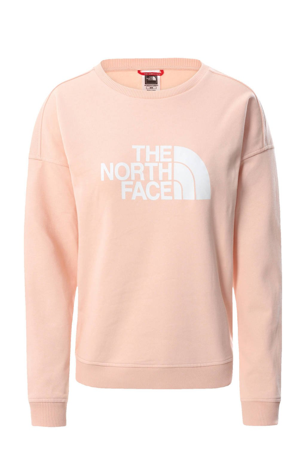 The North Face sweater Drew Peak roze, Roze