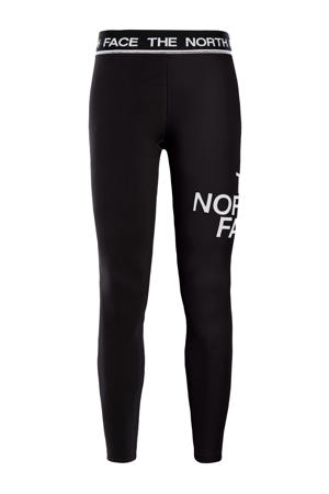 outdoor legging Flex zwart/wit