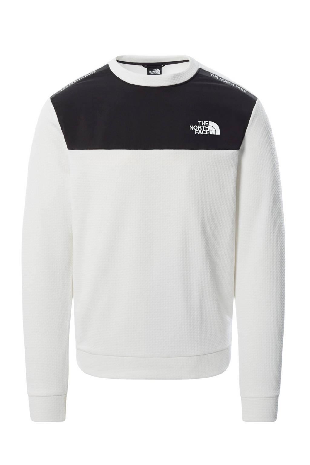 The North Face outdoor sweater Mountain Athletics wit/zwart, Wit/zwart