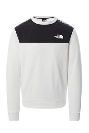 outdoor sweater wit/zwart