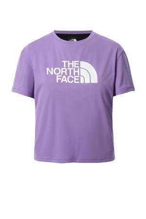 outdoor T-shirt paars
