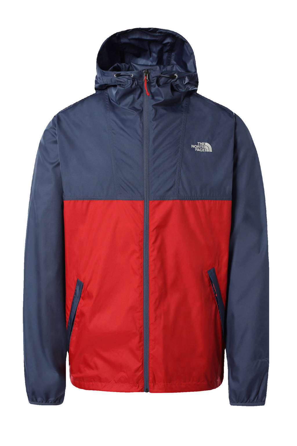 The North Face jack Cyclone donkerblauw/rood, Donkerblauw/rood