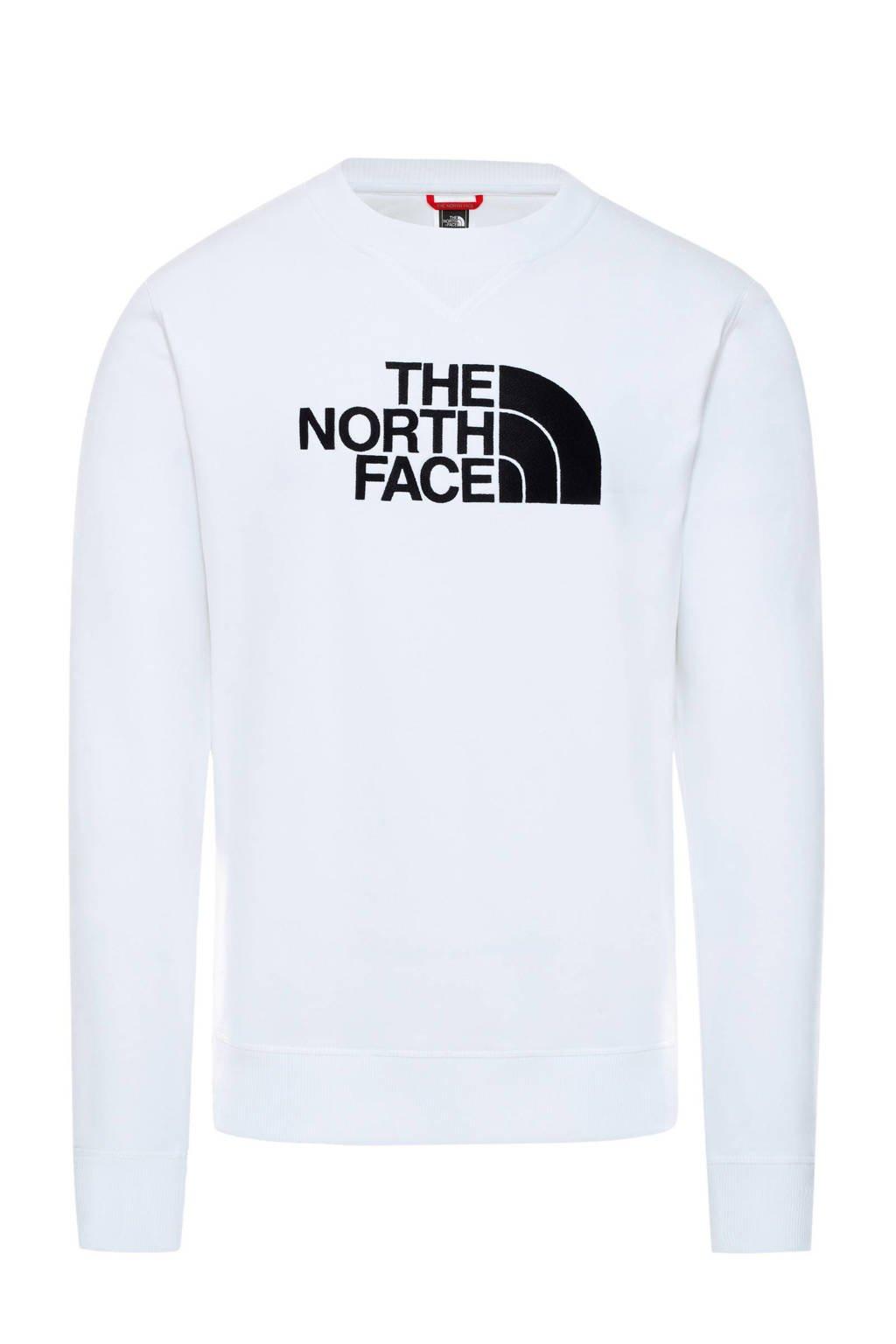 The North Face sweater wit/zwart, Wit/zwart