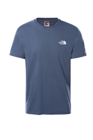 T-shirt Simple Dome blauw