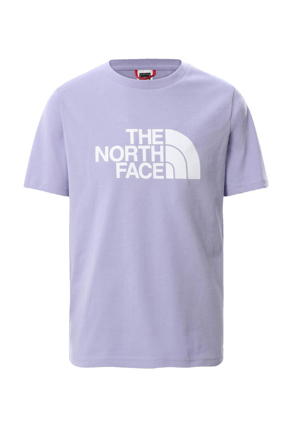 The North Face unisex T-shirt Easy Boyfriend lila, Lila