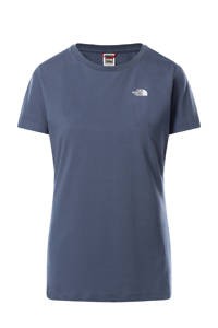 The North Face T-shirt Simple Dome blauw, Blauw
