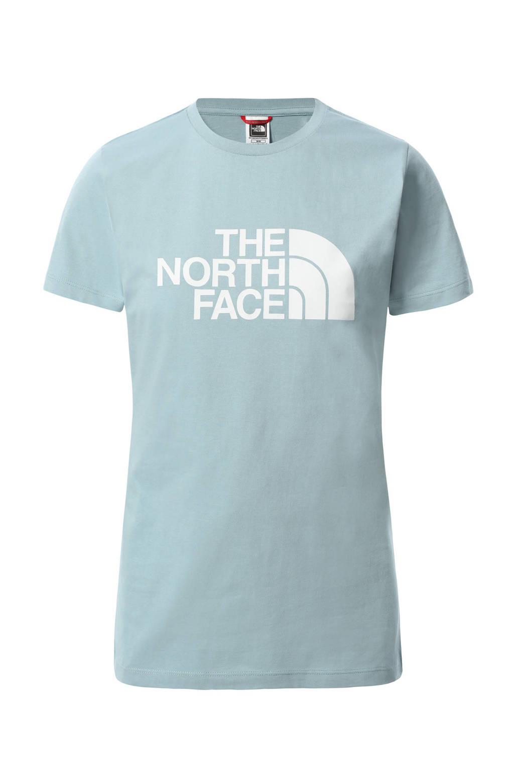 The North Face T-shirt East lichtblauw/wit, Lichtblauw/wit