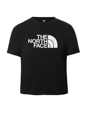 outdoor T-shirt zwart