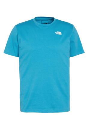 outdoor T-shirt Foundation blauw