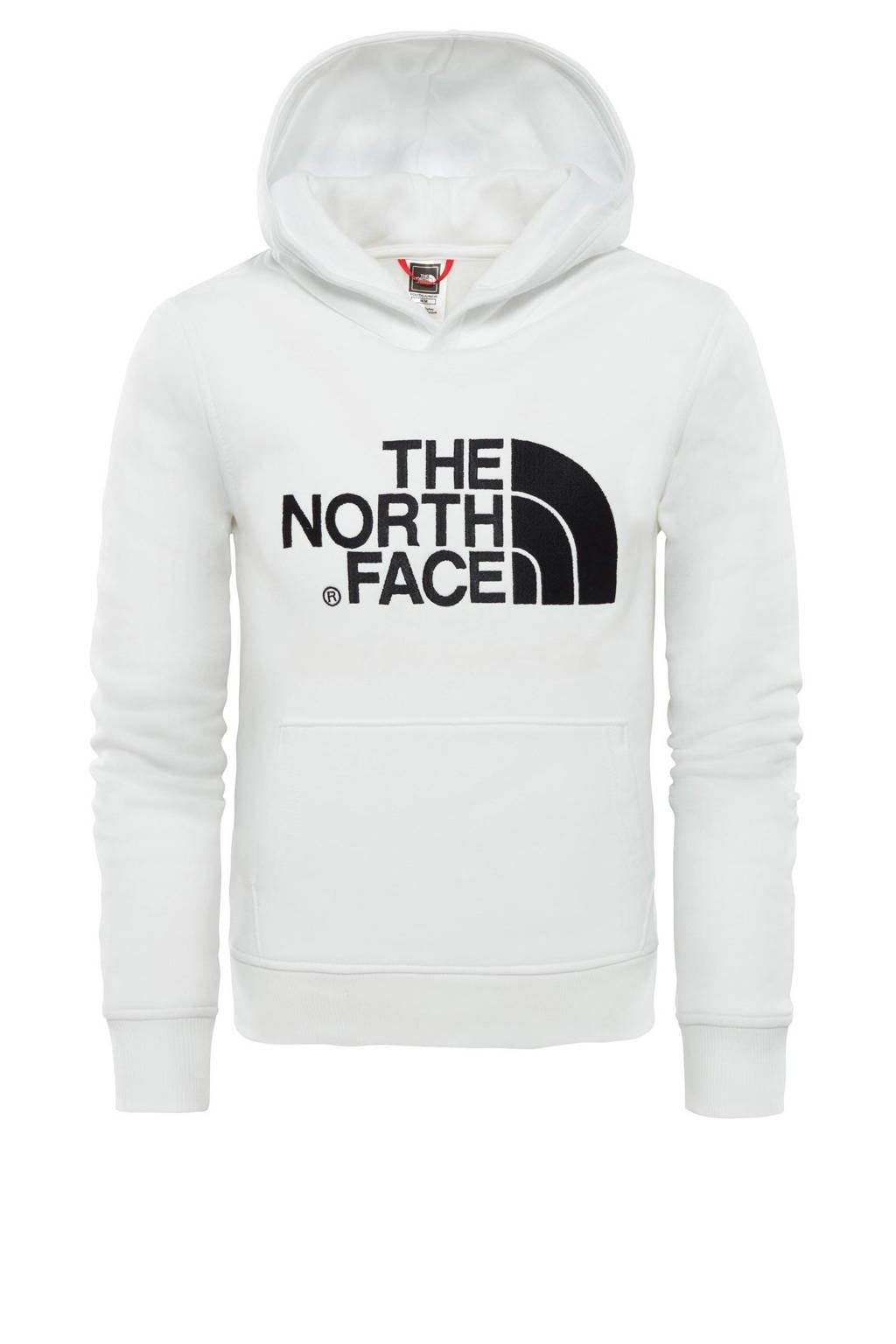 The North Face unisex hoodie Drew Peak wit/zwart, Wit