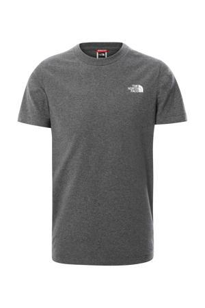 T-shirt Simple Dome grijs