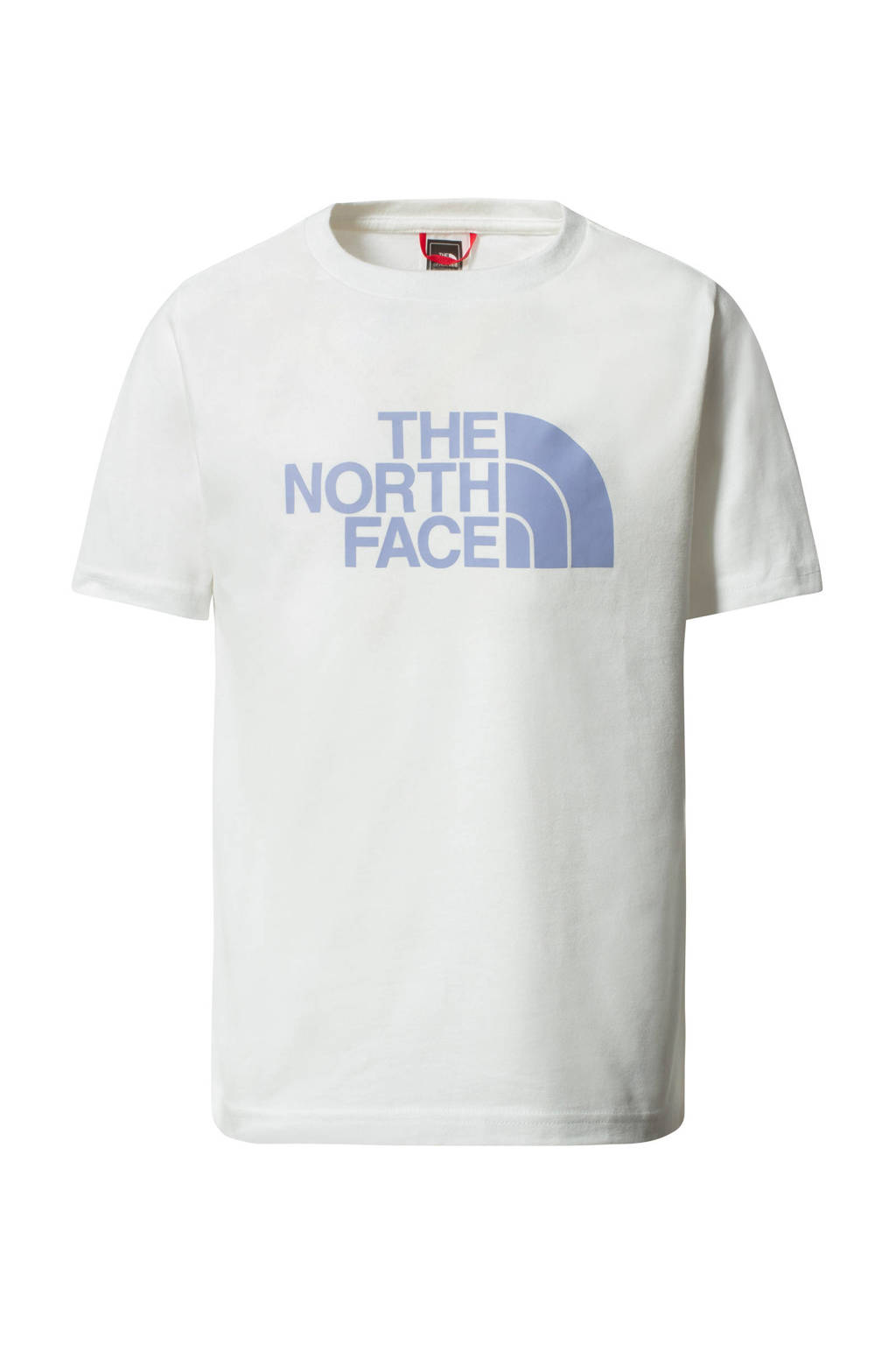 The North Face unisex T-shirt wit, Wit