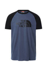 The North Face T-shirt Easy donkerblauw, Donkerblauw