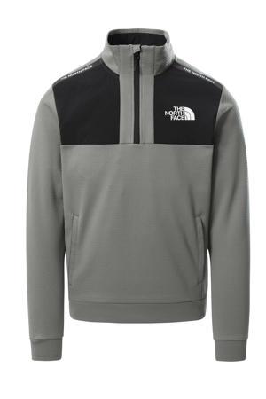 outdoor sweater grijsgroen