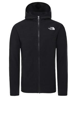 outdoor fleece vest Glacier zwart