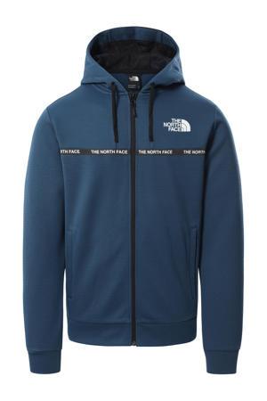 outdoor jas blauw
