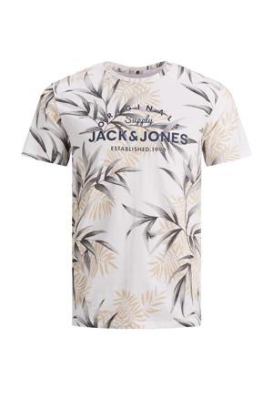 T-shirt Pop met printopdruk wit