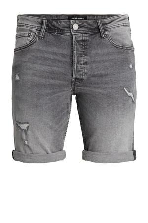 jeans bermuda Rick grijs stonewashed