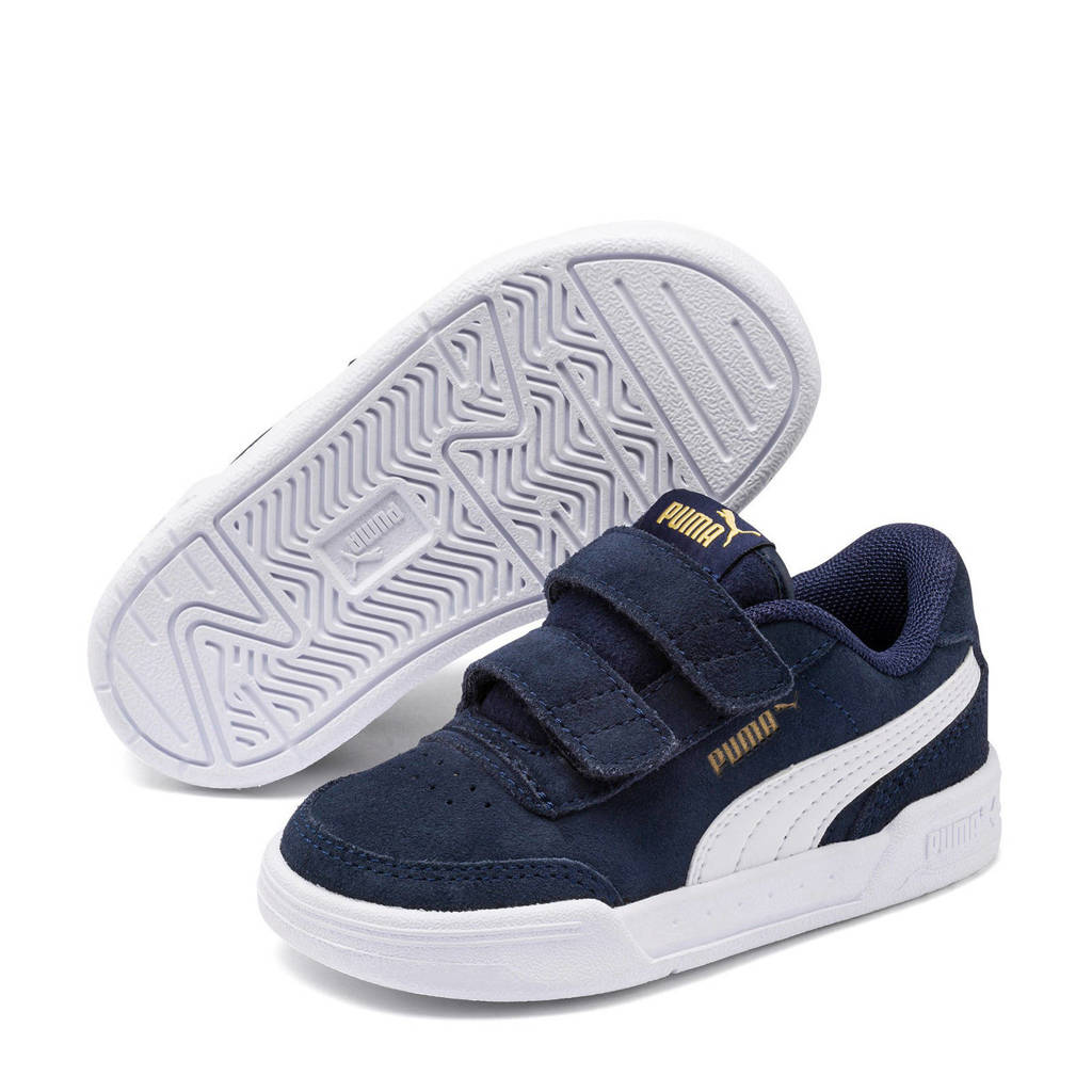 Puma Caracal SD V Inf sneakers donkerblauw/wit, Donkerblauw/wit