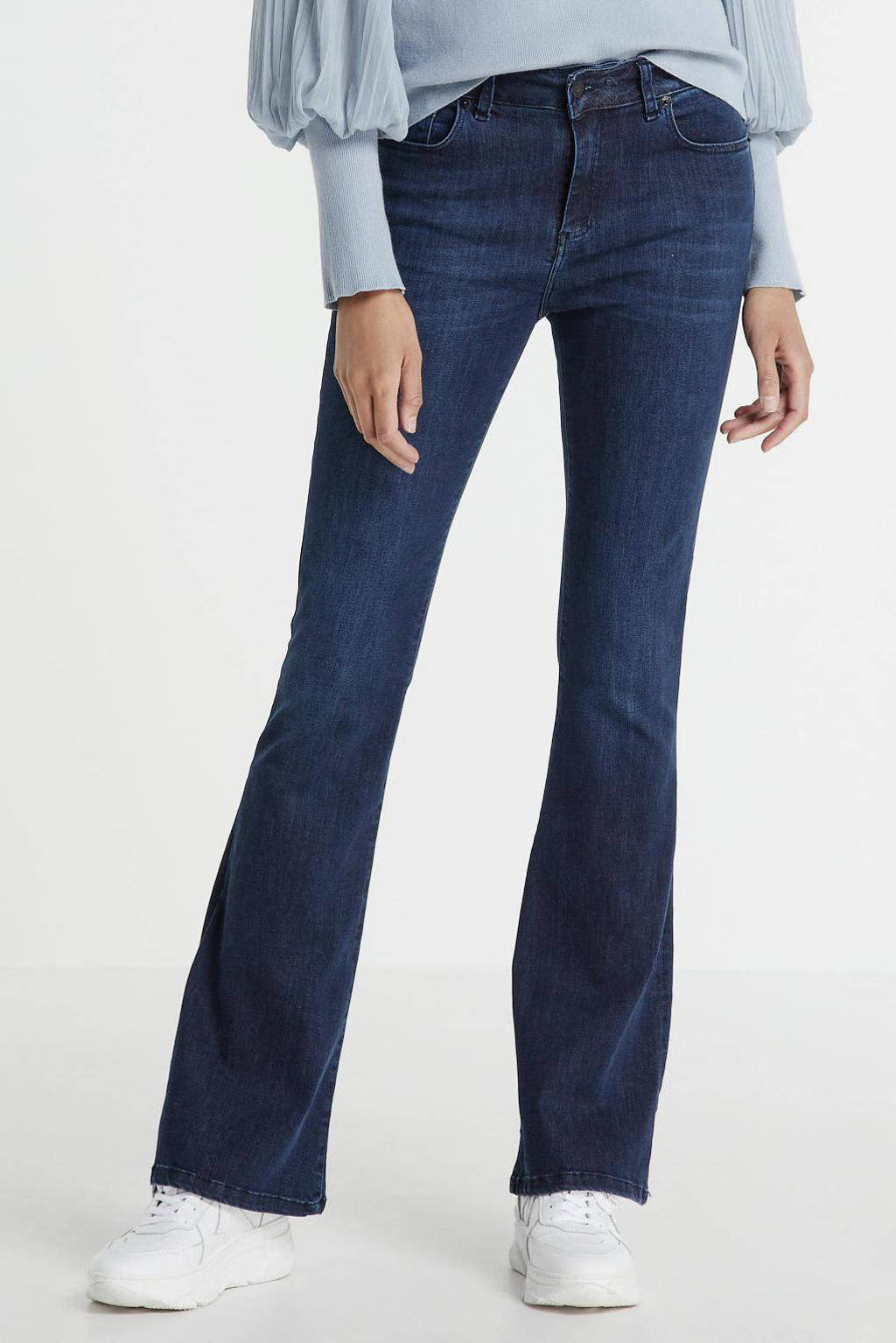 Lois flared jeans rinse blue