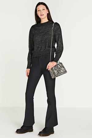 flared jeans Raval-F donkergrijs