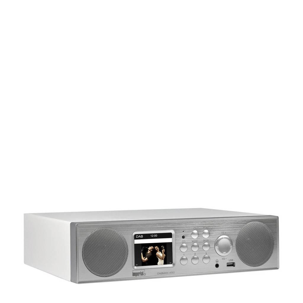Imperial Dabman i450 DAB+ radio (zilver), Zilver