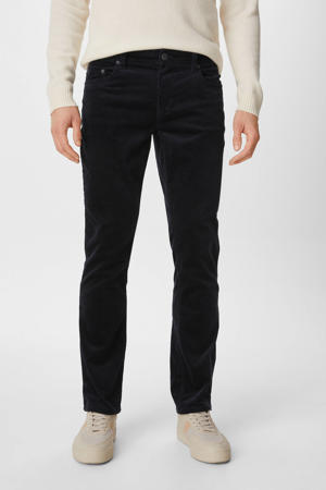 corduroy broek donkerblauw
