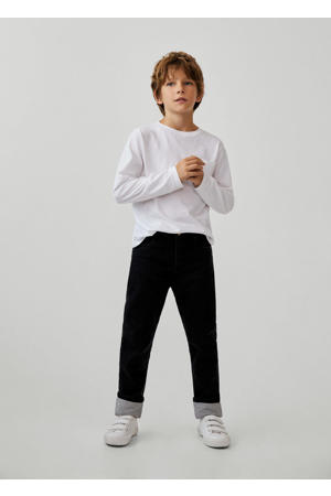 loose fit jeans donkergrijs