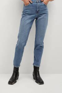 Mango high waist mom jeans light denim, Light denim