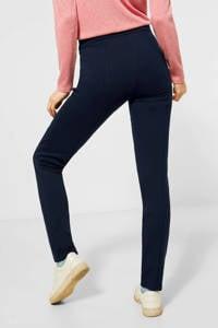 CECIL high waist skinny tregging Vicky donkerblauw, Donkerblauw