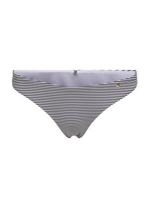 gestreept bikinibroekje Kitty donkerblauw/wit