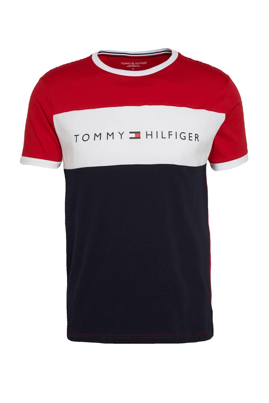 Tommy Hilfiger pyjamatop rood, Rood