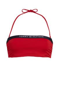 Tommy Hilfiger strapless bandeau bikinitop rood, Rood