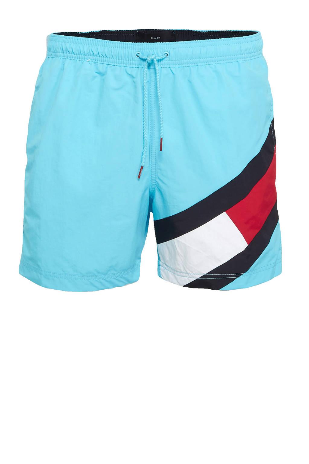 Tommy Hilfiger zwemshort lichtblauw, Lichtblauw