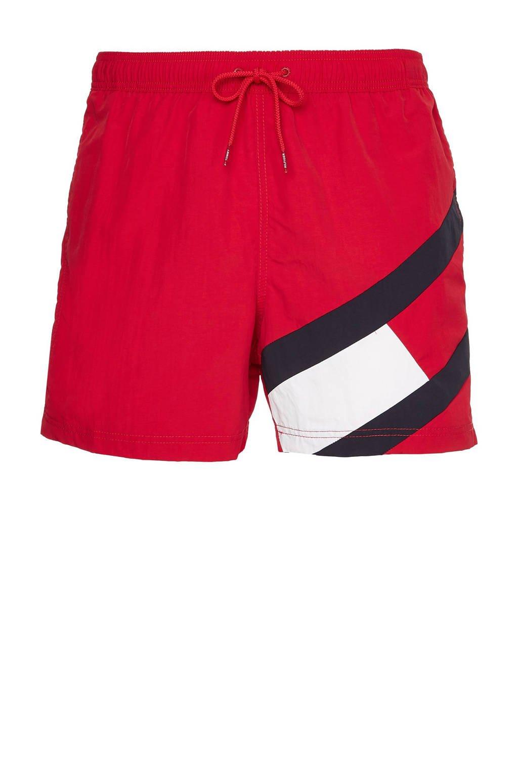 Tommy Hilfiger zwemshort rood, Rood