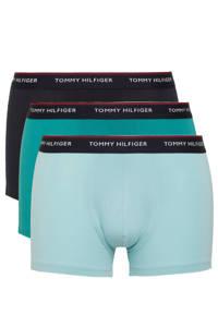 Tommy Hilfiger boxershort (set van 3), Donkerblauw/petrol/turquoise