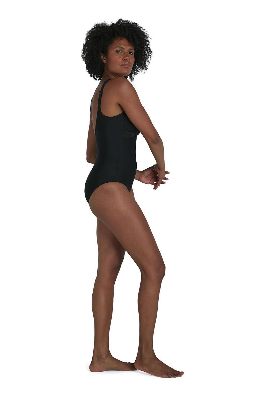 Speedo Endurance10 sportbadpak Brigitte zwart, Zwart