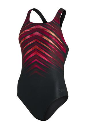 Endurance+ sportbadpak Placement Medalist zwart/oranje
