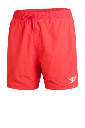zwemshort Essentials koraalrood