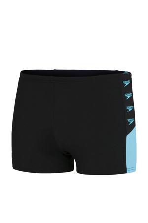 Endurance+ zwemboxer Boom zwart/blauw