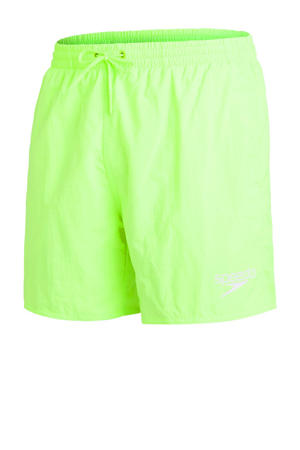 zwemshort Essentials neon geel