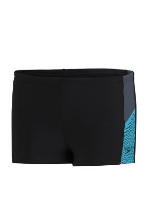 Endurance 10 zwemboxer Dive zwart/lichtblauw