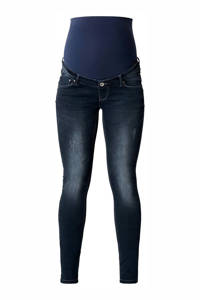 Noppies low waist skinny zwangerschapsjeans Britt dark denim, Dark denim