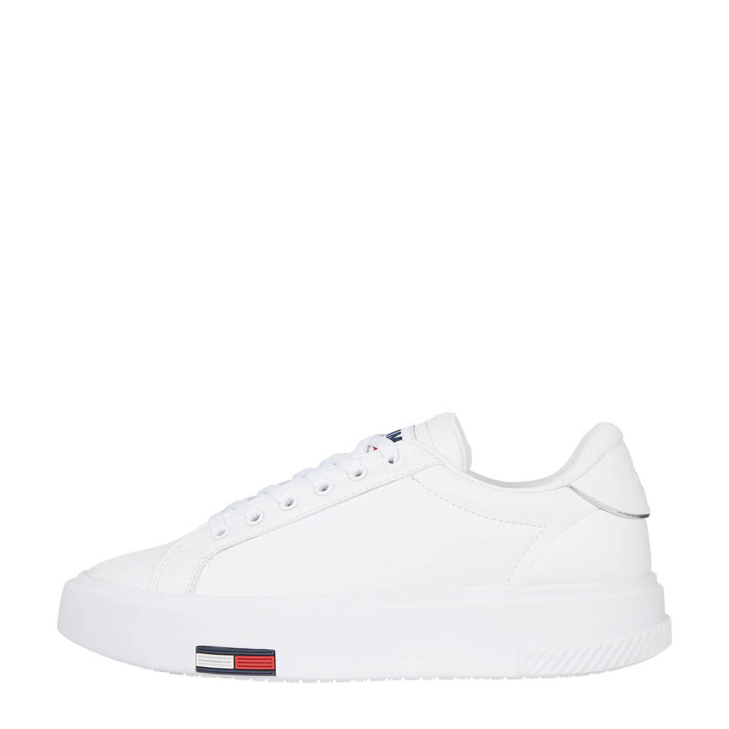Tommy Jeans Fashion Cupsole  sneakers wit, Wit