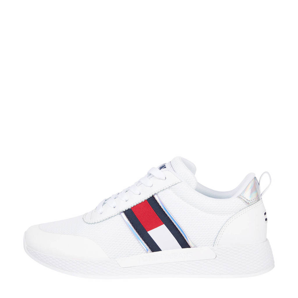 Tommy Jeans Technical Flexi  sneakers wit, Wit