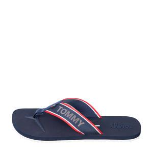 Comfort Footbed Beach Sandal  teenslippers donkerblauw
