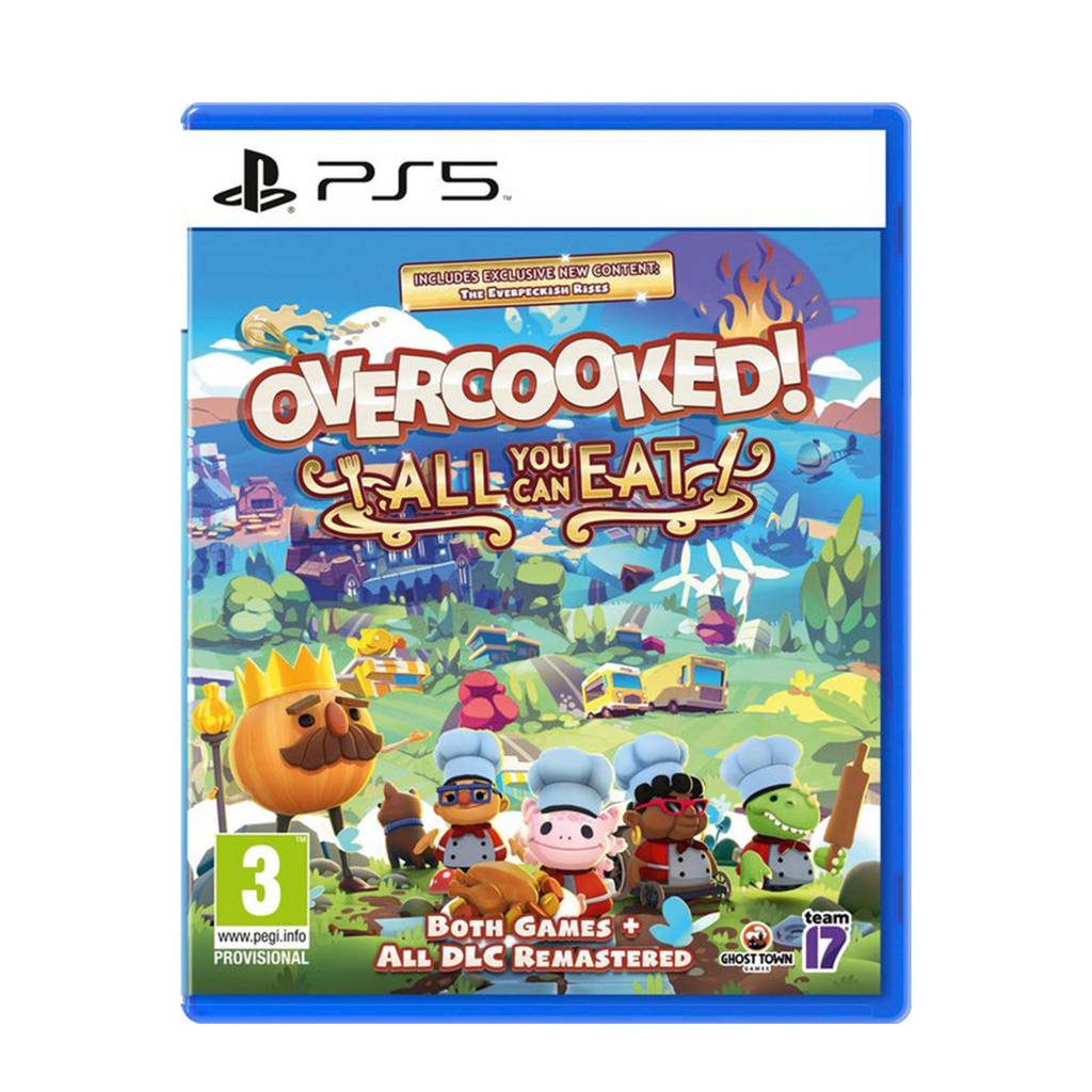 Overcooked - All you can eat edition (PlayStation 5)