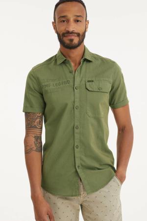 regular fit overhemd met logo army