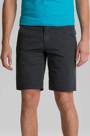 regular fit chino short grijs