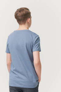 Ellos T-shirt Jonah met printopdruk blauw, Blauw